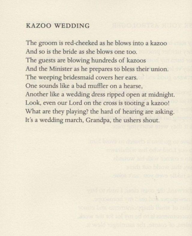 Wedding Kazoo. Simic