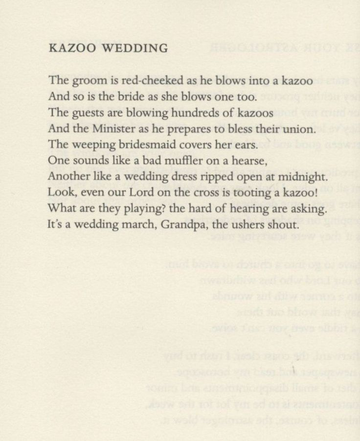 Wedding Kazoo. Simic