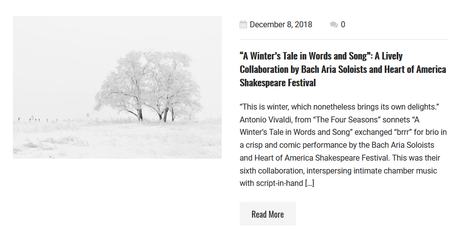 The Winter Tale Song